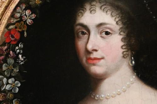 Portrait of a quality lady, follower of Justus van Egmont (1601-1674) - Louis XIV