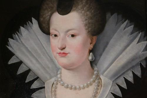 Portrait of Marie de Médicis, French School of the 18th century after Frans II Pourbus -