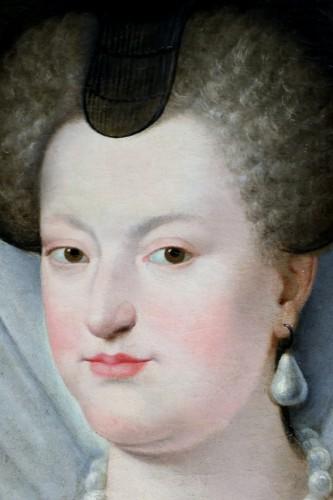 18th century - Portrait of Marie de Médicis, French School of the 18th century after Frans II Pourbus