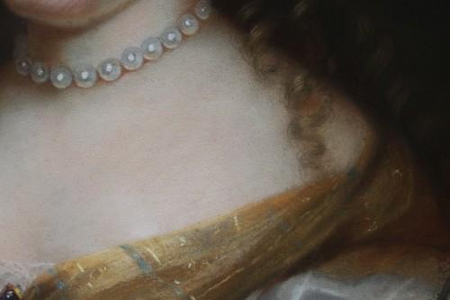17th century - Portrait of Madame de Sévigné (1626; 1696), Pastel attributed to R.Nanteuil