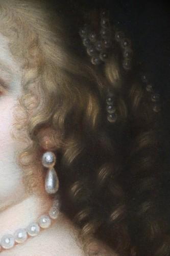 Portrait of Madame de Sévigné (1626; 1696), Pastel attributed to R.Nanteuil - Louis XIV