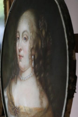Louis XIV - Portrait of Madame de Sévigné (1626; 1696), Pastel attributed to R.Nanteuil
