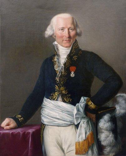 Elise Bruyère, born Le Barbier - Portrait de Mr Saget législateur - 1806
