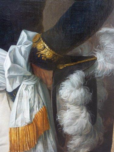 Elise Bruyère, born Le Barbier - Portrait de Mr Saget législateur - 1806 -