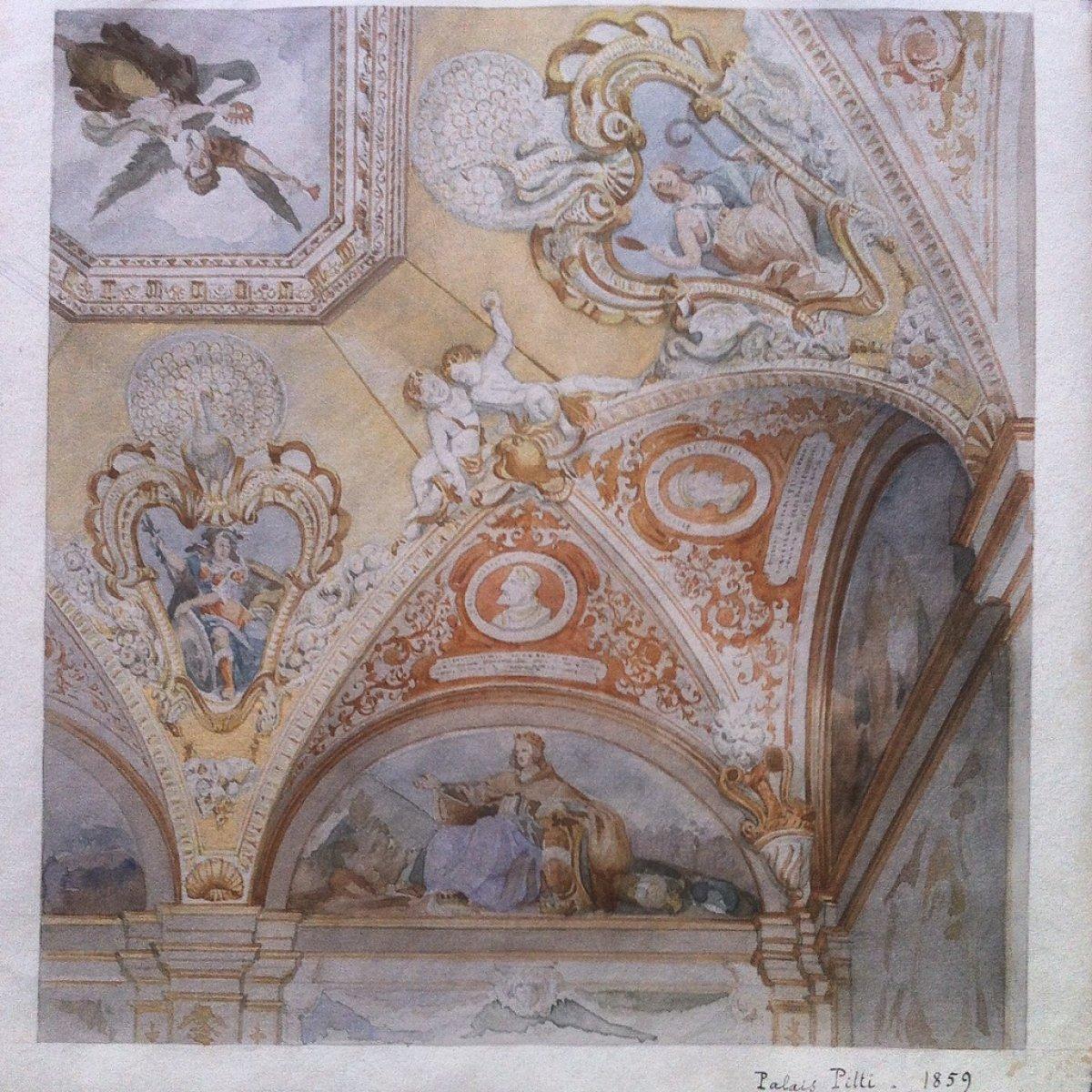 Honoré DAUMET (1826-1911) - Souvenirs du Grand Tour - Ensemble de 43 ... 3a347f42480a