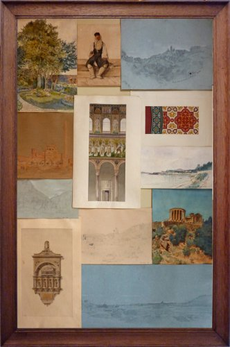 Honoré DAUMET (1826-1911) - Souvenir of the Grand Tour - Set of 43 drawings -