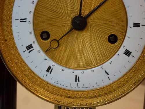 A Restauration ormolu mounted mahogany striking regulator clock - Clocks Style Restauration - Charles X