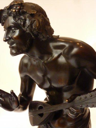 Francisque Duret - Vendangeur improvisant sur un sujet comique - Bronze -