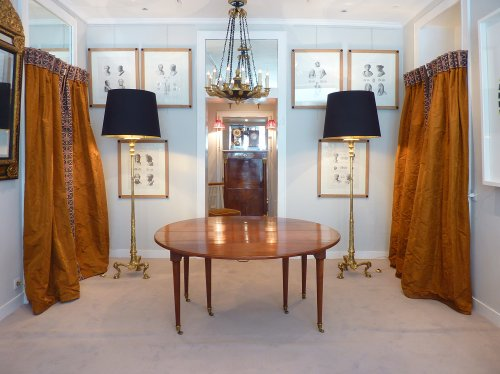 Antiquités - Ensemble de 6 gravures grand in folio Iconographie Romaine, par Visconti - Paris 1817