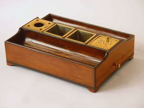 An Empire mahogany and ebony inkstand - Paris circa 1810 -