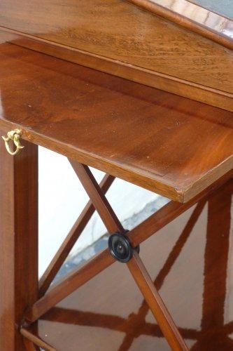 A mahogany standing desk. Paris circa 1820 -