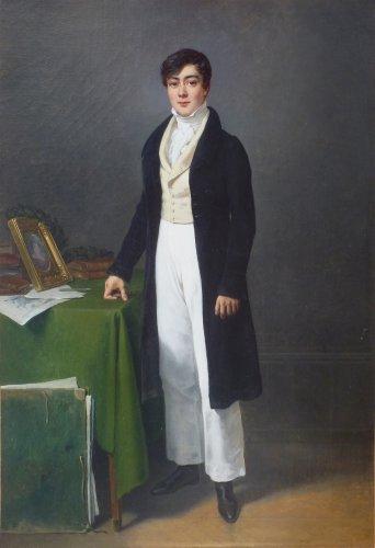Francois Grenier de Saint Martin - Self Portrait - 1823