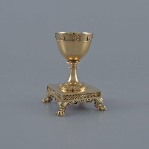 Antiquités - JBC ODIOT - An empire silver-gilt travelling necessaire - Paris 1809-1819