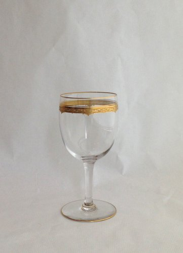 "A Saint Louis ""Roty"" pattern part table-service - 68 glasses - Glass & Crystal Style Art Déco"