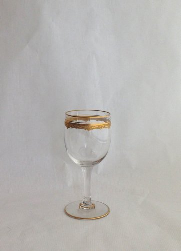 "Glass & Crystal  - A Saint Louis ""Roty"" pattern part table-service - 68 glasses"
