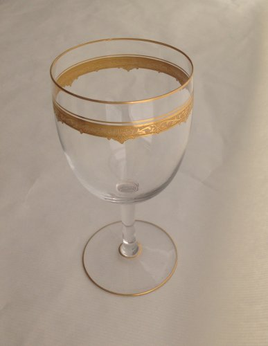"""Art Déco - A Saint Louis """"Roty"""" pattern part table-service - 69 glasses"""