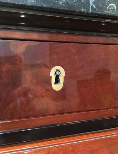 Jacob Desmalter - A mahogany roll top desk - Empire - Empire