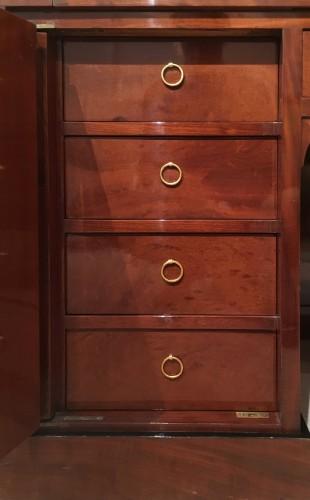 Empire - Jacob Desmalter - A mahogany roll top desk - Empire