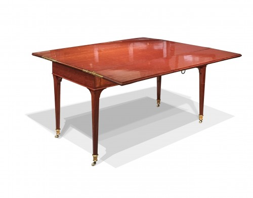 A Louis XVI mahogany transforming desk attributed to Canabas - Furniture Style Louis XVI