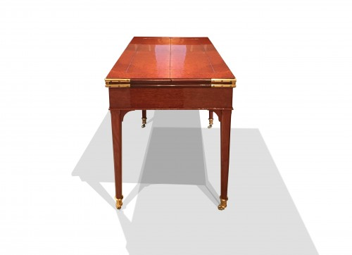 18th century - A Louis XVI mahogany transforming desk attributed to Canabas
