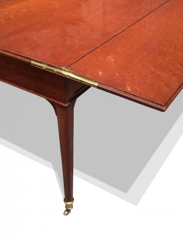A Louis XVI mahogany transforming desk attributed to Canabas - Louis XVI