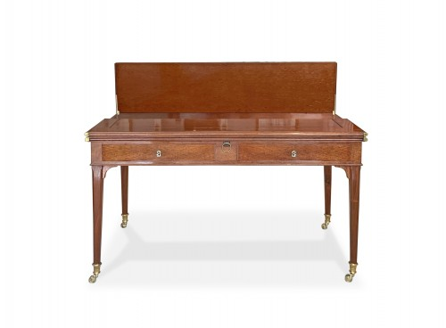 Antiquités - A Louis XVI mahogany transforming desk attributed to Canabas