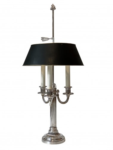 A pair of three light bouillotte lamps - Lighting Style 50