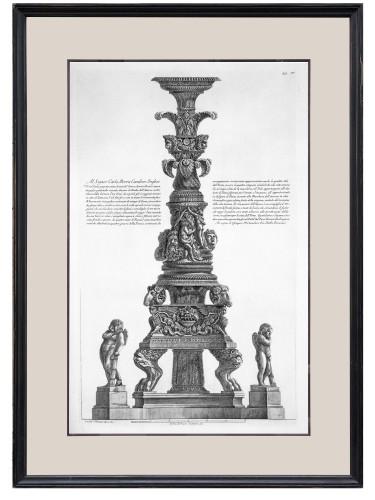 Giovanni Battista Piranesi (1720-1778) - Candelabrum - Engravings & Prints Style