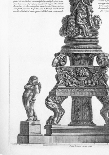 Engravings & Prints  - Giovanni Battista Piranesi (1720-1778) - Candelabrum