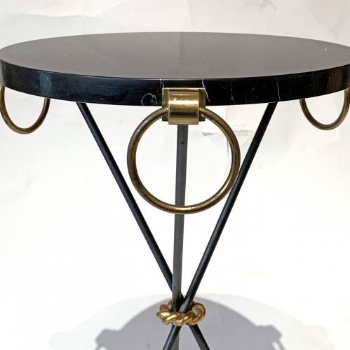 André Arbus (1903-1969) - A pair of side tables -