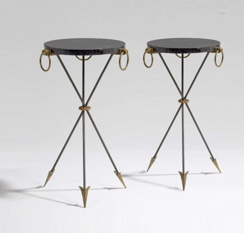 André Arbus (1903-1969) - A pair of side tables - 50