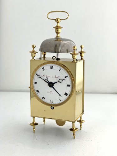 Mayet à Lyon - An early French Empire Capucine clock - Clocks Style Empire