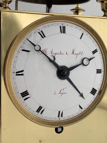 Clocks  - Mayet à Lyon - An early French Empire Capucine clock