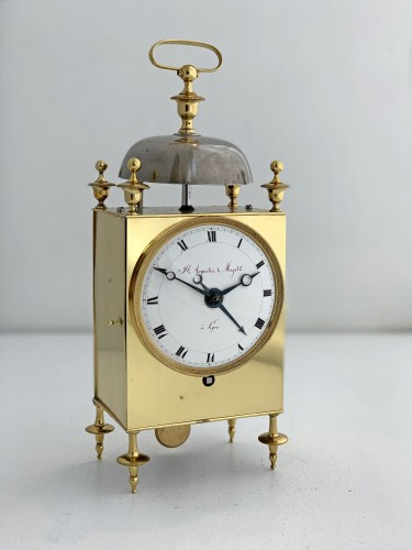 19th century - Mayet à Lyon - An early French Empire Capucine clock