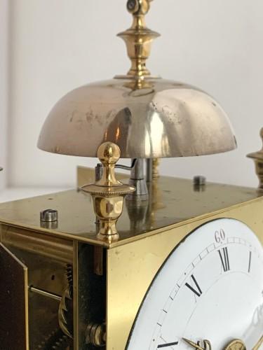 A Louis XVI brass capucine clock - Horology Style