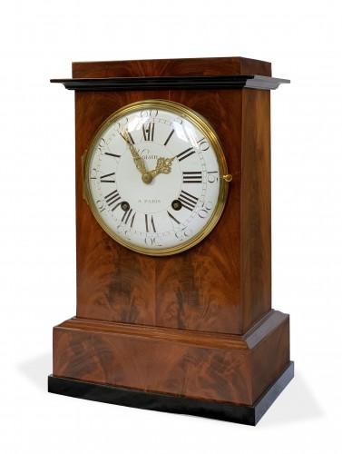 Jean Antoine Voisin - A large mahogany clock - Horology Style