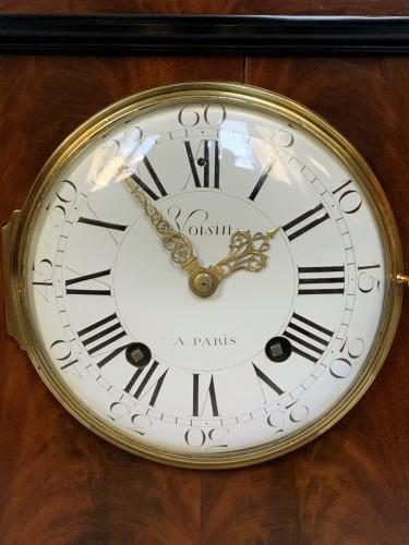Jean Antoine Voisin - A large mahogany clock -