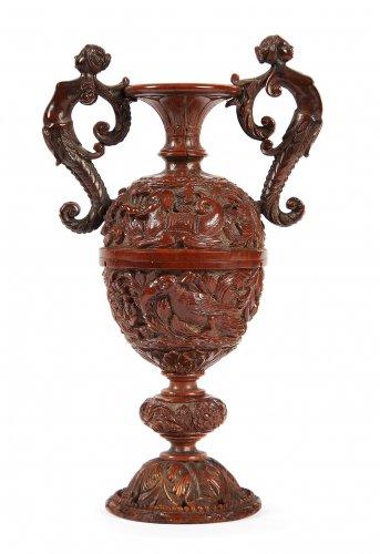 Vase en noix de Corozo - Curiosities Style