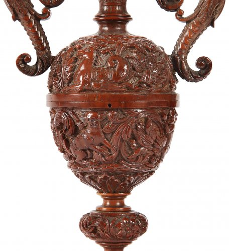 Vase en noix de Corozo -
