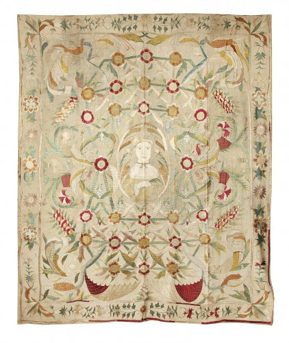 Hanging, silk, China, 18th century