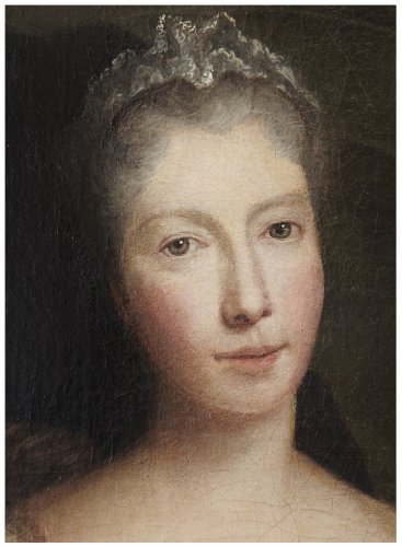 Portrait of the Saint-Pierre family members as Italian comedians - Louis-René Vialy (1680-1770) -
