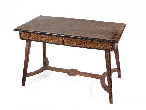 Writing table, portuguese India - Goa 19th century