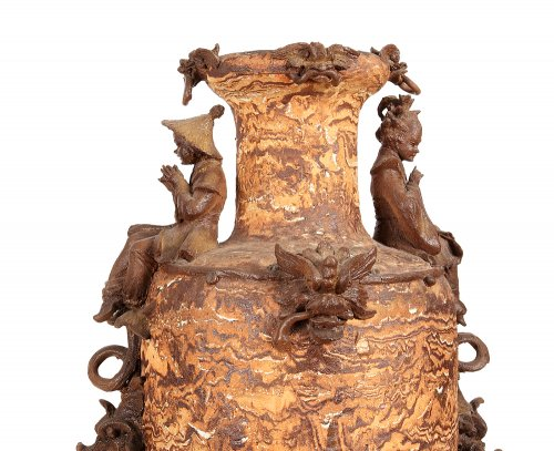 Decorative Objects  - Large earthenware vase, Italy late 19th century