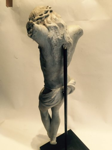 Religious Antiques  - Marble Christ, 17th century