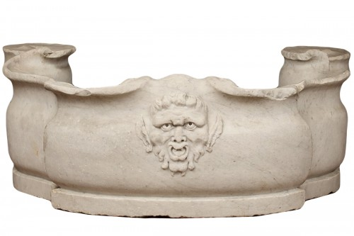 Marble basin of Carrara, Italy,  17th century