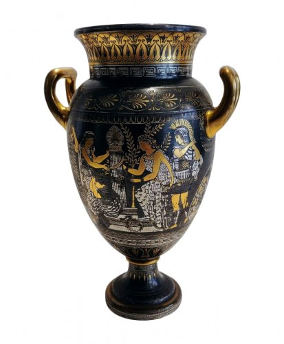 Vase of Toledo, attributed to Zuloaga Placido