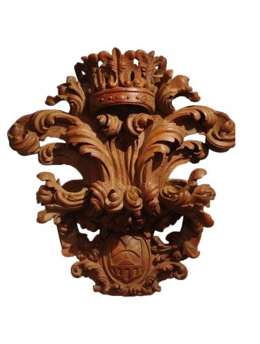 Baroque coat of arms, 18th century