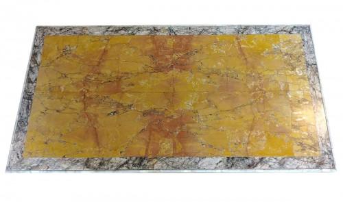 Italian marble top, 18th century