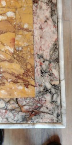 Italian marble top, 18th century -
