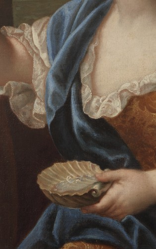 18th century - Portrait of Louise Marie de Bourbon - Attributed to Pierre Mignard
